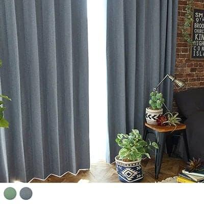完全遮光なのにツイードのような温かみのあるカーテン ~フォルスカジュアル~