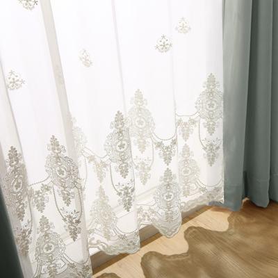 本物のトルコ刺繍が上品で美しいエンブロイダリーレース ~メアリー~ アイボリー