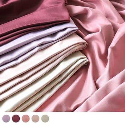 艶と発色、キラキラとした光沢の生地が上質の遮光カーテン~シャンタングロス~