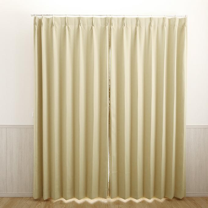 1.5倍ヒダのカーテン